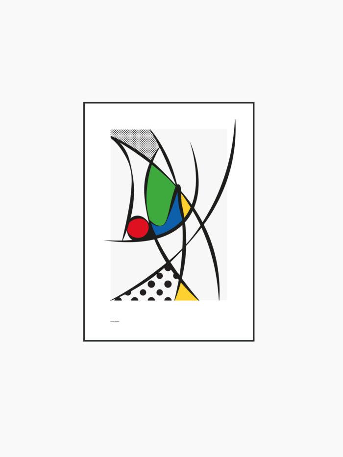 Pop Art Poster - Burban Studios Luleå