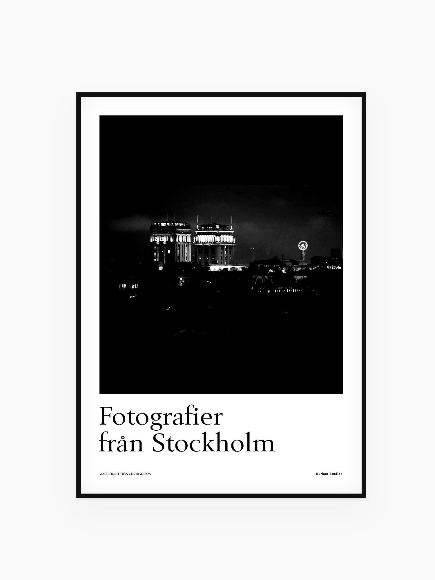Kungstornen Stockholm tavla / poster / affisch - Burban Studios