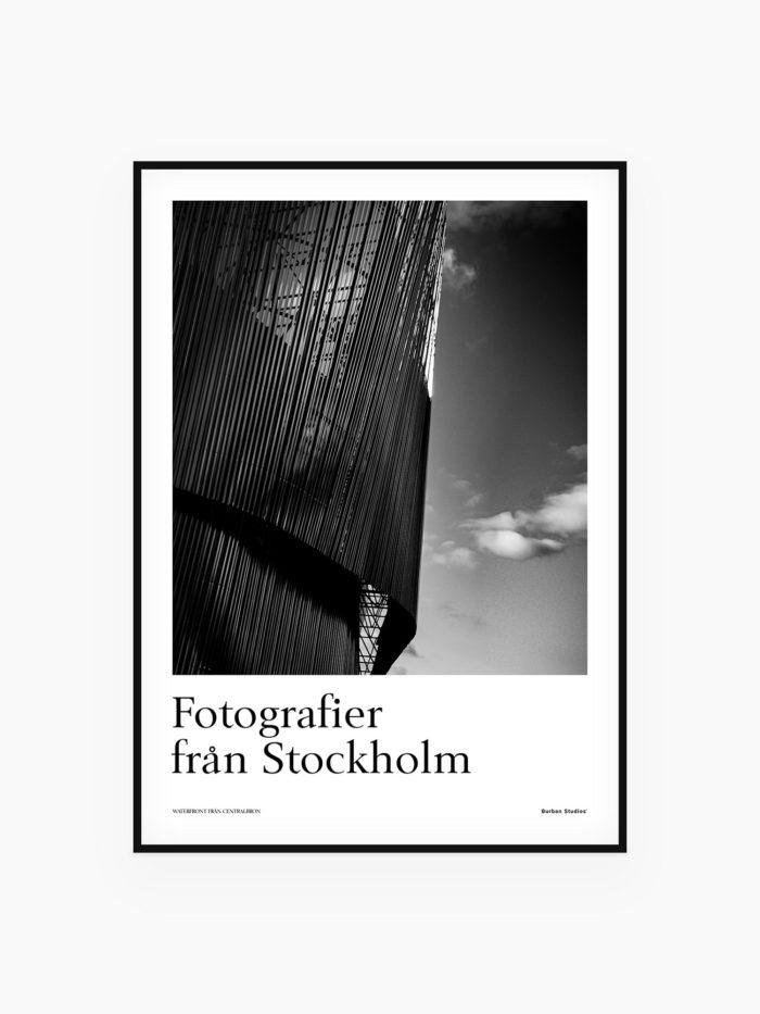 Stockholm Waterfront - Affish / tavla / Poster