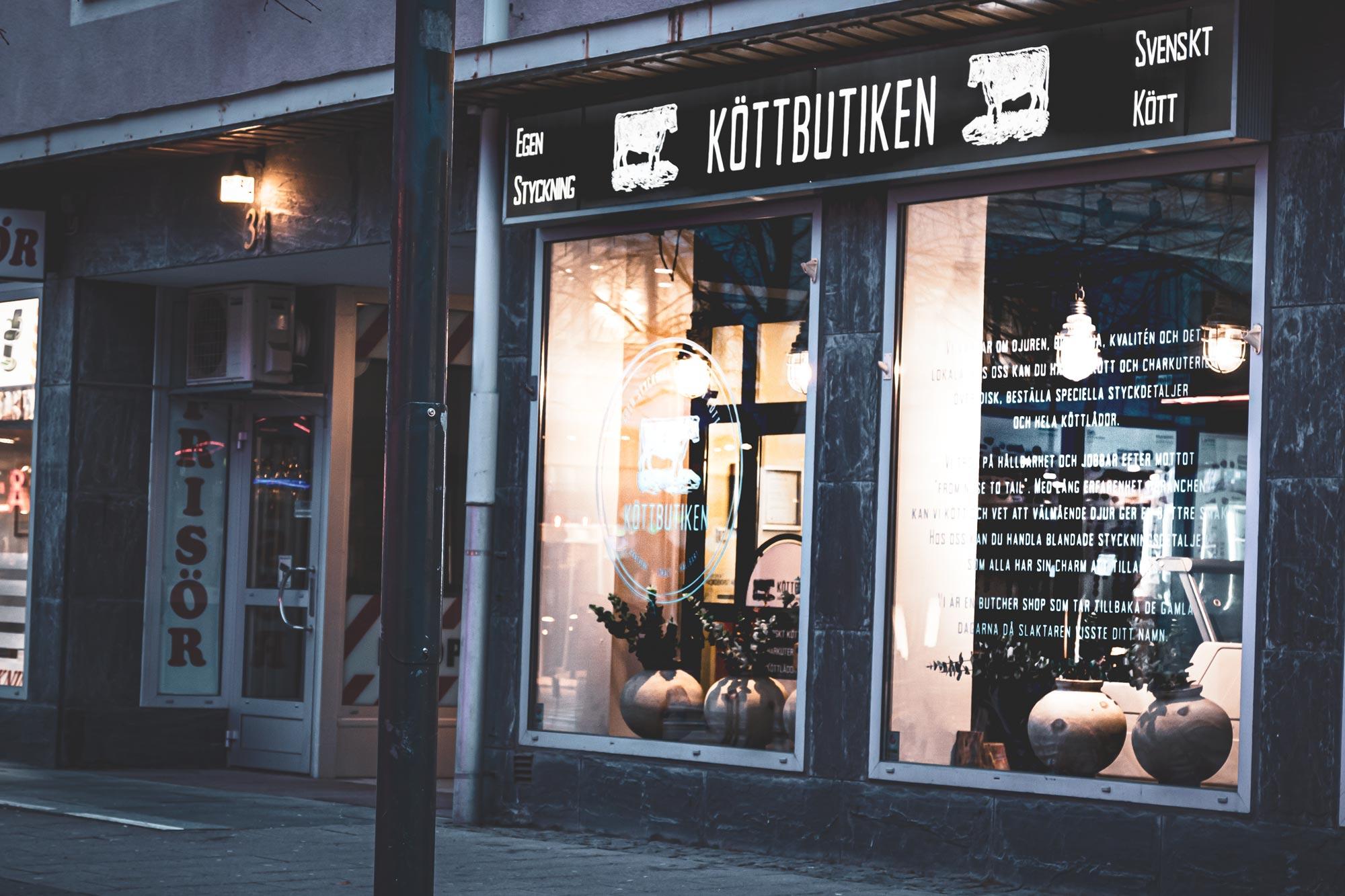 Köttbutiken Luleå - Visuell Identitet av Burban Studios